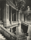 LONDON. Marble Balustrades of the Staircase in the Foreign Office 1926 print